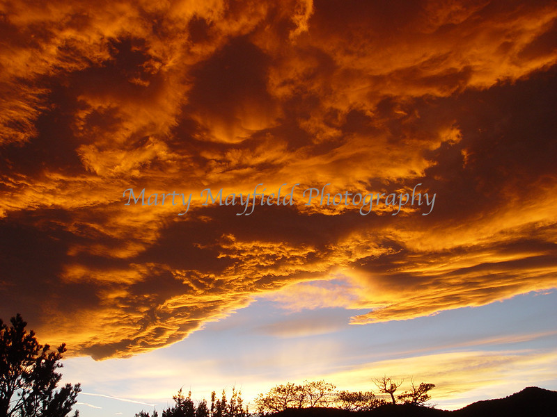 Sunset West of Trinidad Co 0657
