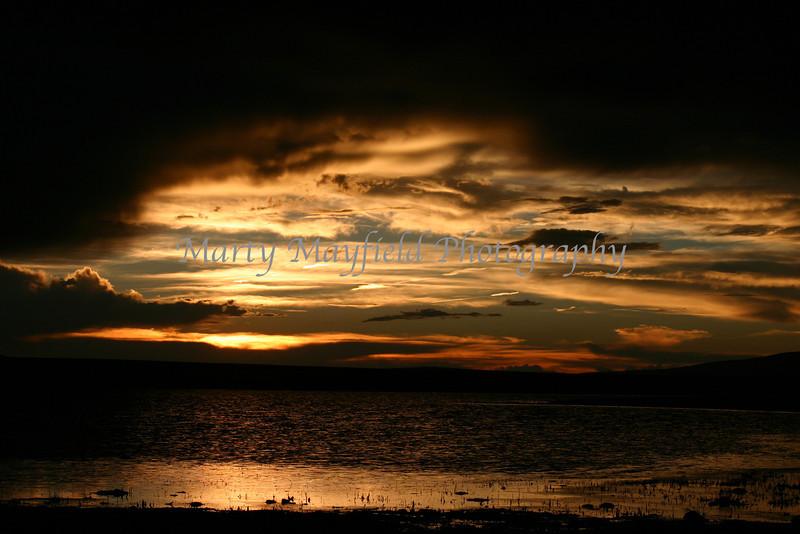 Pond west of MT Dora Sunset IMG_4045