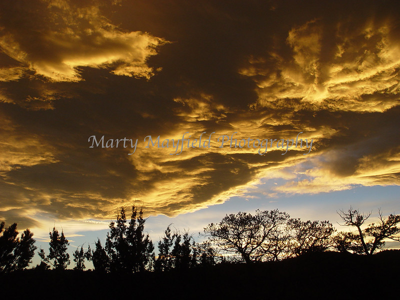 Sunset West of Trinidad Co 0655
