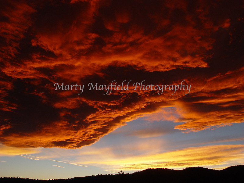 Sunset West of Trinidad Co 0659