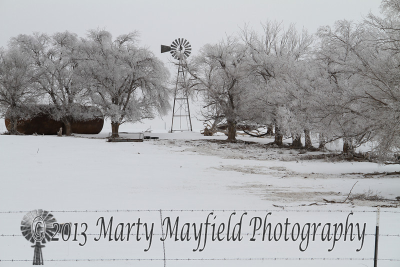 Frosty Windmill near Farley NM_9377