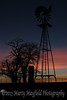 Windmill Sunset near Mosquero NM_027