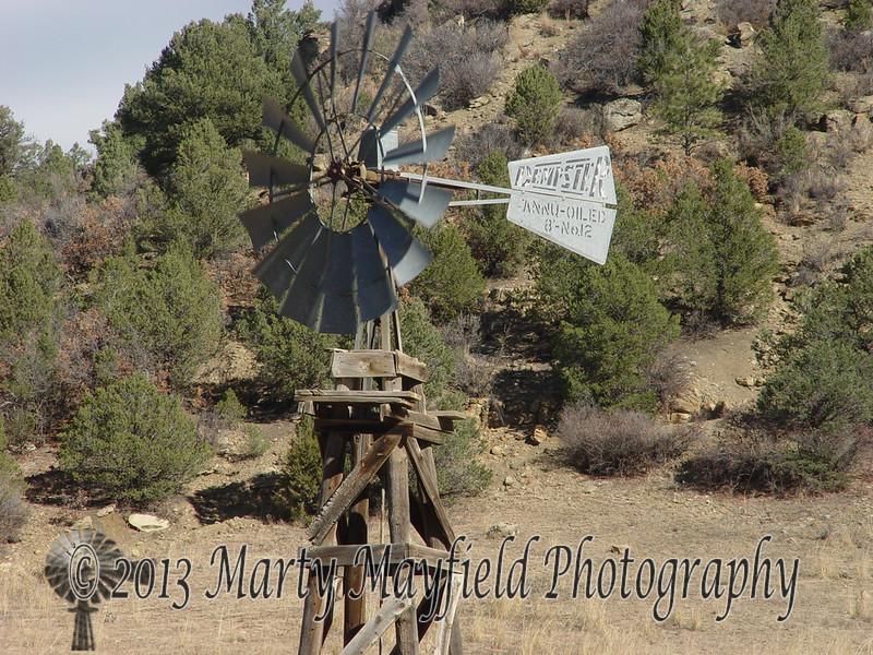 Windmill Tokar Ranch Sarcillo Canyon Co 0631