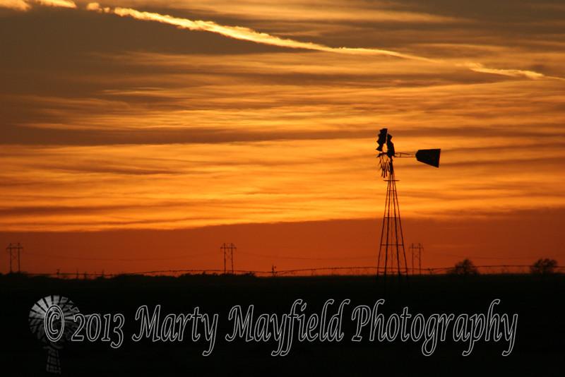 Sunset near Amarillo TX_005