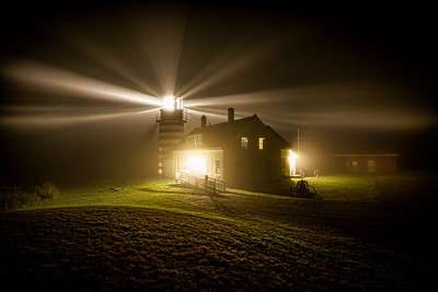 West Quoddy Head In The Fog
