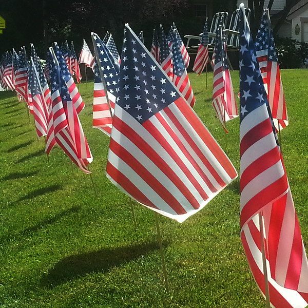 Flags on the Fourth