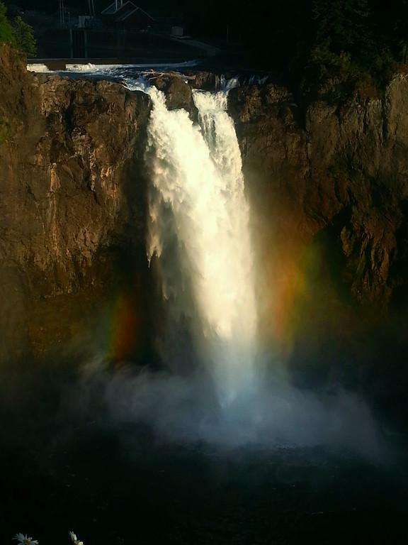 Snoqualmie Falls Sunset