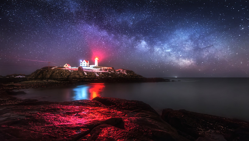 Galaxy Rise at Nubble