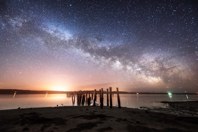 Sandy Point Galaxy Rise