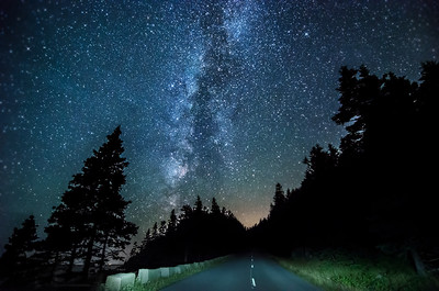 Acadian Milky Way
