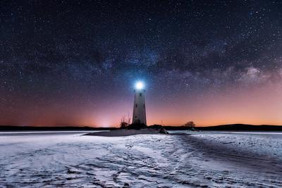 Loon Island lighthouse