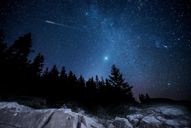 Fireball, Jupiter, Orion, Zodiacal Light