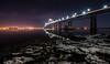 Newport Bridge at Night