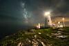 Milky Way at Pemaquid Point Light
