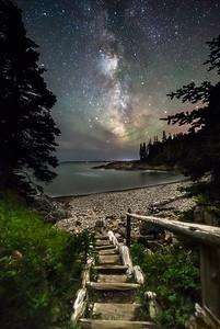 Night Walk at Little Hunters Beach