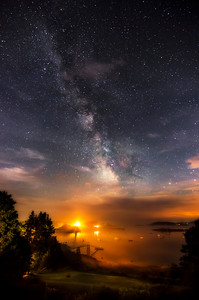 Milky Way at Pemaquid Harbor