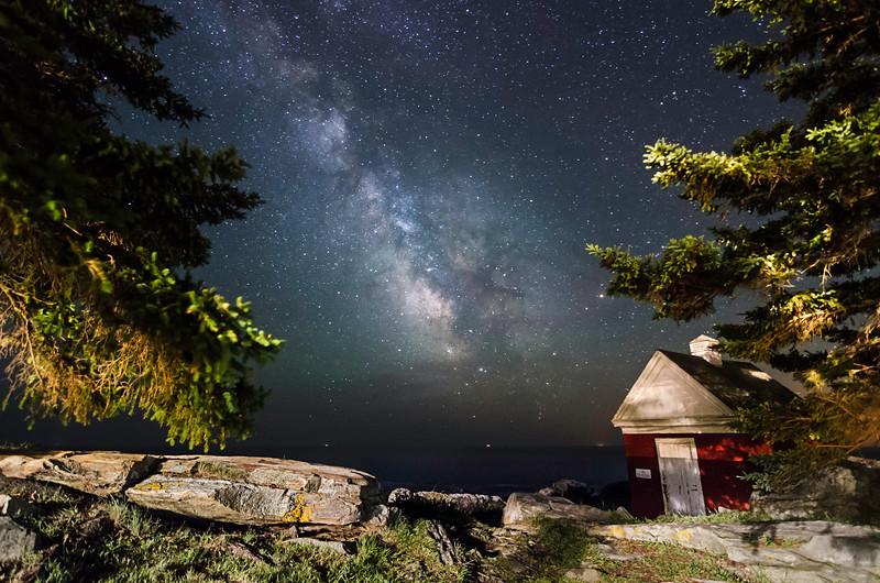 Milky Way at Pemaquid III