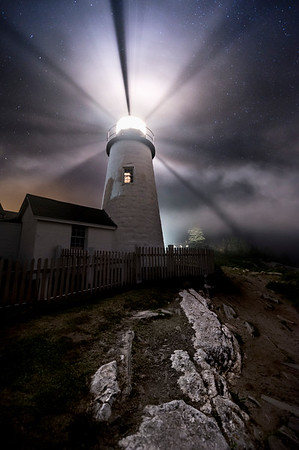 Pemaquid Point in the Fog