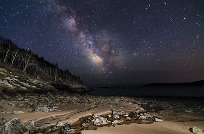 Milky Way at Sand Beach