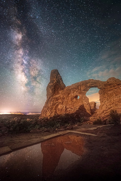 Turret Arch Reflections