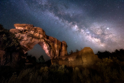 Arch Rock at Night
