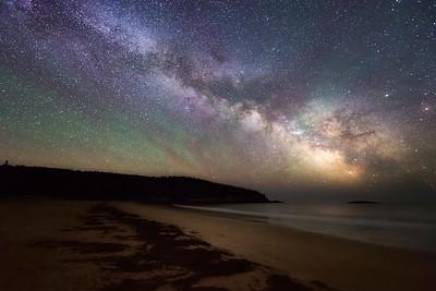 Sand Beach Airglow