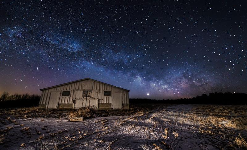 February Milky Way & Venus