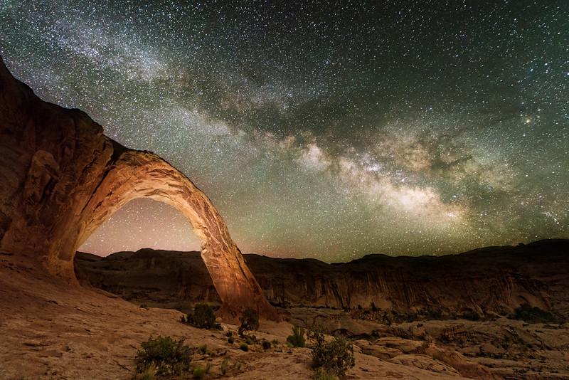 Corona Arch At Night