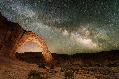 Corona Arch At Night