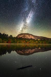 Night at Echo Lake
