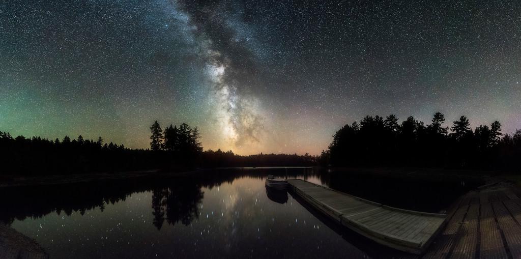 Moosehead Lake Panorama