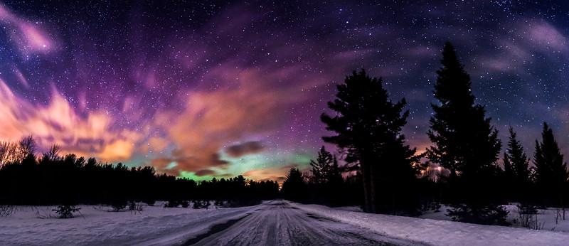 St Patrick's Day Aurora