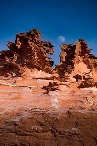 Moonrise Over Natural Art