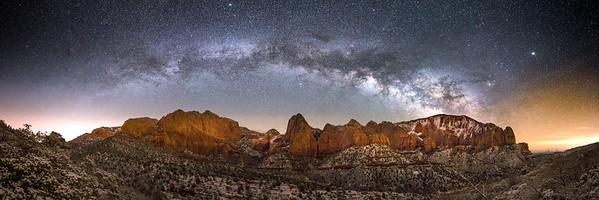 Kolob Canyon, Utah, USA, Earth, Solar System, Milky Way