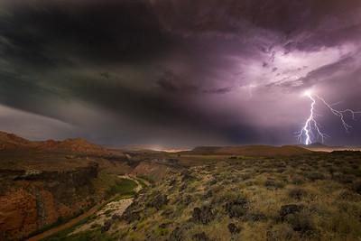 Sky Mountain Storm