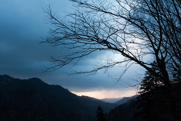Newfound Gap, Great Smoky Mountains National Park, Tennessee, USA