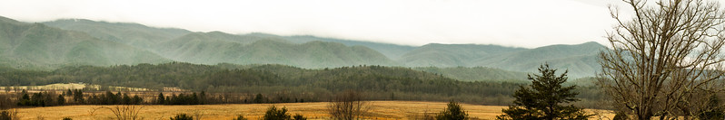 Cades Cove, Great Smoky Mountains National Park, Tennessee, USA