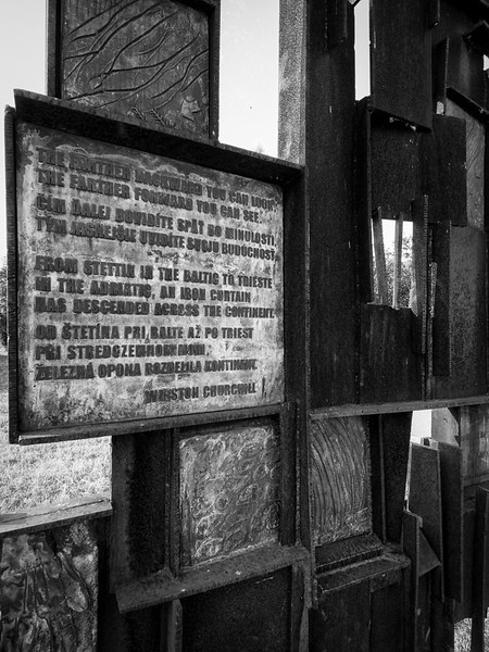Denkmal eiserner Vorhang (Devin)