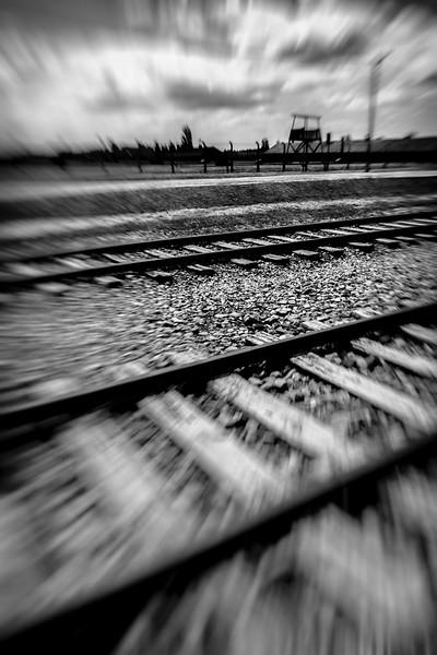 Bahngleise Birkenau