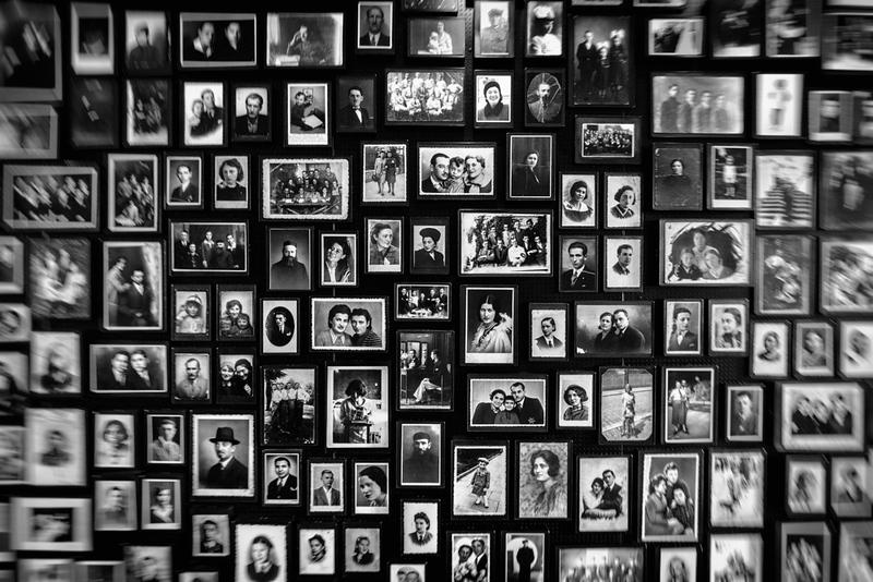 Mitgebrachte Erinnerungsfotos