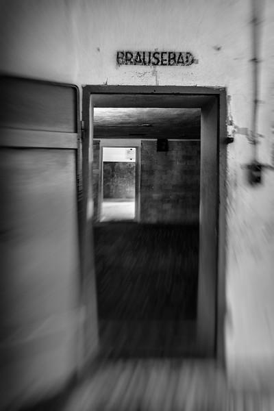 Eingang in die Gaskammer