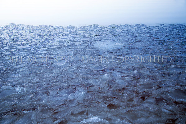 Floe!<br /> <br /> Ice like I have never, ever, witnessed.<br /> Not only was it beautiful but the sound - the sound was a delicious sound impossible to recreate!