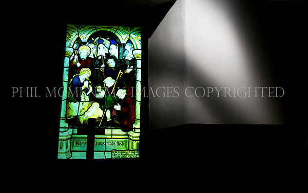 A Lakeland Church<br /> <br /> Inside a small, old but nigh on perfect Lakeland church  - I was drawn to the shadow