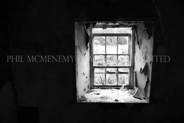 Peeled and Cracked<br /> <br /> A window on the world - how many faces have peered out from here?