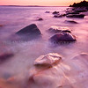 Red Rock Sunset<br /> <br /> An ebbing tide, a setting sun and alive glistening wet rocks.