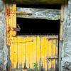 Yellow Door<br /> <br /> A tumbledown farm-steading a long way from anywhere and the paintwork though dilapidated was still a vivid and bright yellow