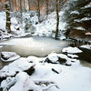 Glade and Pool<br /> <br /> Frozen and pristine - a perfect and hidden winter-wonderland.<br /> This is also another place where the fairies meet to hold court.