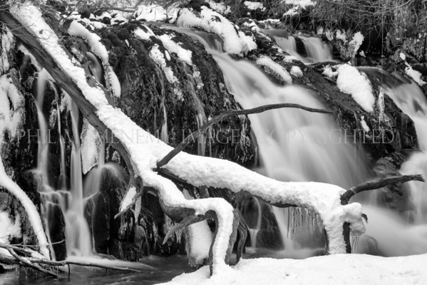 Winter Flow<br /> <br /> Now this was cold - but beautiful and alluring