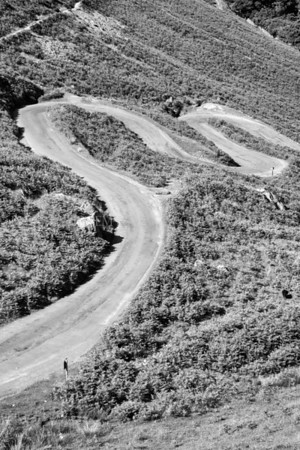 The Road<br /> <br /> Not so well travelled but some road.......