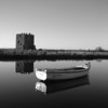 Threave and Boat <br /> <br /> The iconic Threave Castle and the ferrymans boat which takes you across the Dee